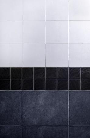 gray tile wall . Stock Photo - 9702431