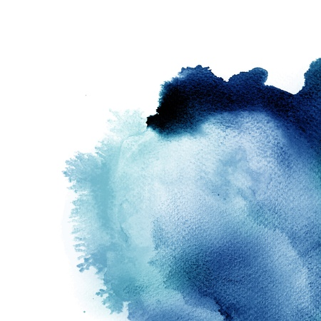 Abstract watercolor hand painted background Stock Photo - 9702379