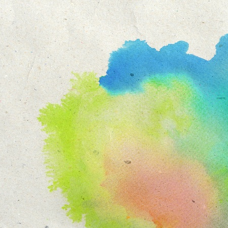 vivid colors: Abstract watercolor hand painted background