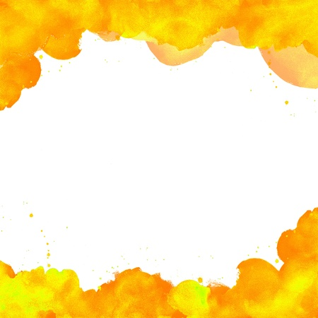daub: Abstract watercolor hand painted background