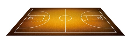 basketball court. photo