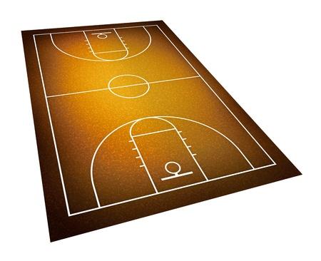 basketball court. photo