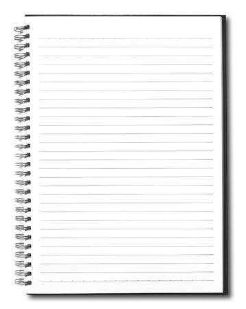 notebook  Stock Photo - 9702553