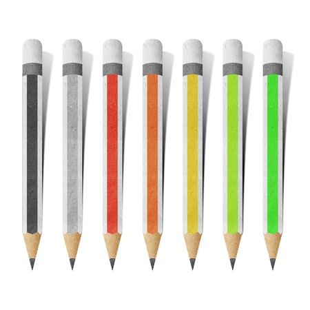 pencil color  paper craft photo