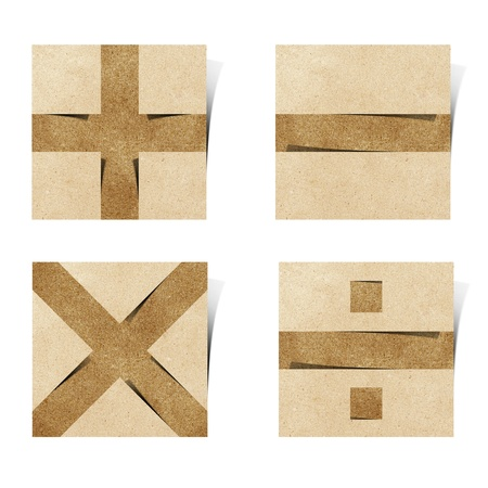 Origami alphabet ( Note Pad style ) photo