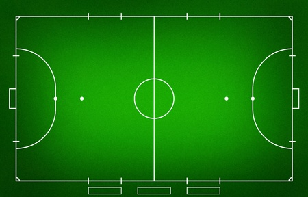 diversion: Illustration of Futsal ( Indoor football ) field.