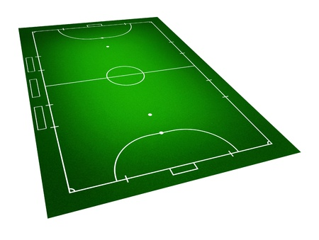 Illustration of Futsal ( Indoor football ) field. illustration