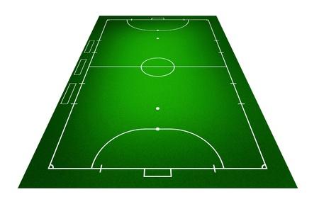 Illustration of Futsal ( Indoor football ) field. illustration