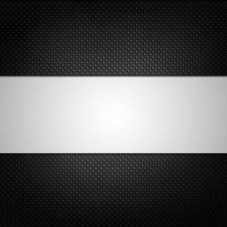 illustrer de fond de texture grill noir.