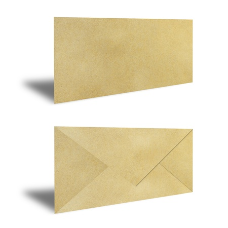 Brown Vintage Envelope Stock Photo - 9850601