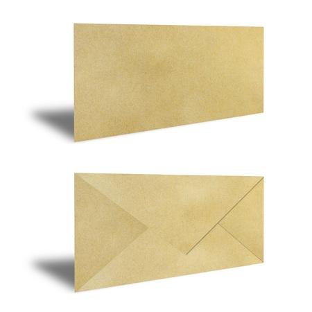 Brown Vintage Envelope Stock Photo - 9850601