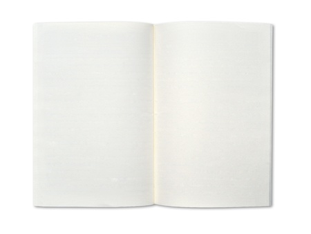 Blank notebook Stock Photo - 9850599