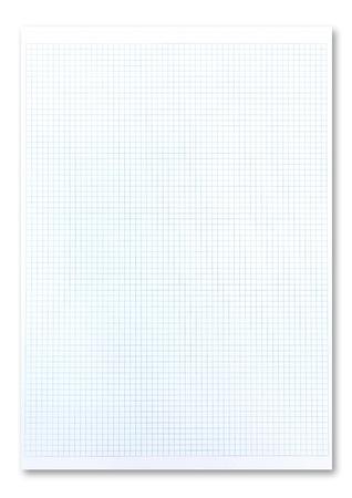 Blue graph paper Stock Photo - 9850597