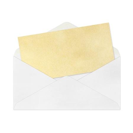vintage envelope: aislados de Vintage de envolvente