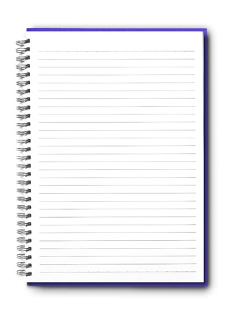 Blank notebook Stock Photo - 10090055