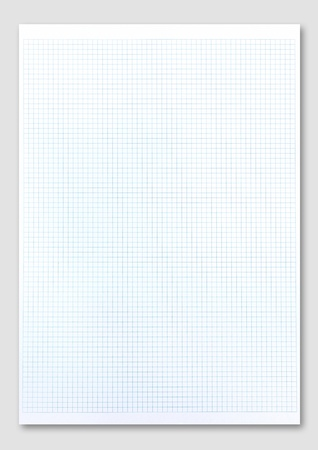 graph paper: blue graph paper on white background.
