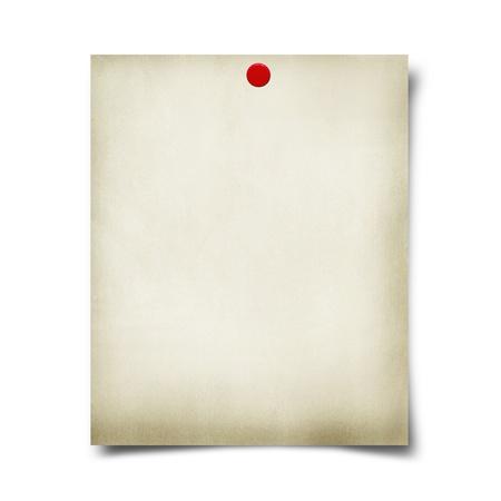 cork sheet: note pape Stock Photo