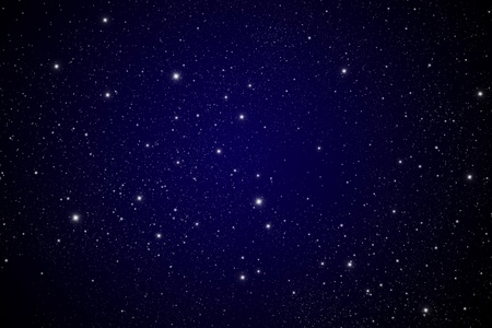 暗いギャラクシーで星します。