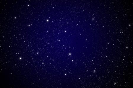 어두운 은하에서 별. 스톡 콘텐츠