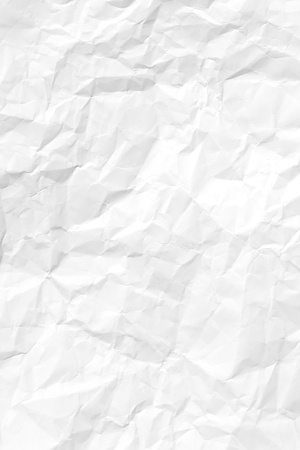 crinkles: White Crumpled paper Stock Photo