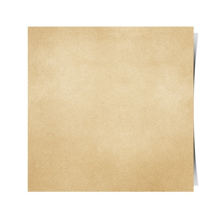 Notepad recycled paper craft background