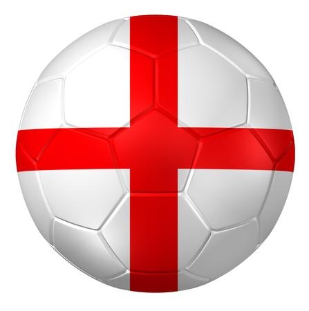 3d ball: 3d rendering of a soccer ball.