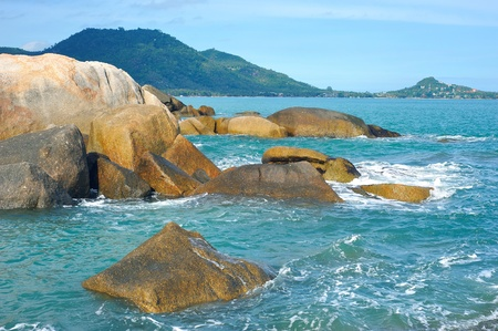 sea scenery: tropical sea Stock Photo