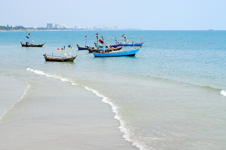 watercraft: Fishing boats in thailand.