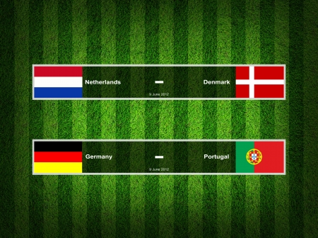 Match Day - 9 June 2012 ,euro 2012 Group B photo