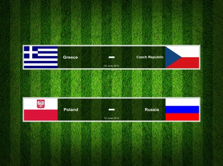 Match Day - 12 June 2012 ,euro 2012 Group A photo