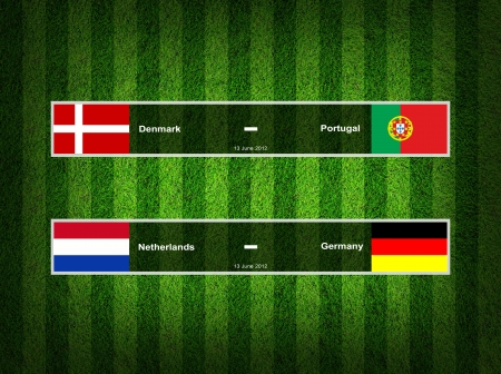 Match Day - 13 June 2012 ,euro 2012 Group B photo