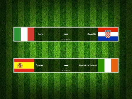 Match Day - 14 June 2012 ,euro 2012 Group C photo