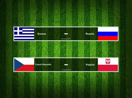 Match Day - 16 June 2012 ,euro 2012 Group A photo