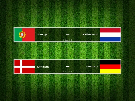 Match Day - 17 June 2012 ,euro 2012 Group B photo