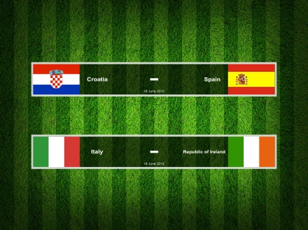Match Day - 18 June 2012 ,euro 2012  Group C photo