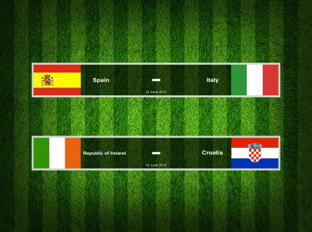 Match Day - 10 June 2012 ,euro 2012  Group C photo