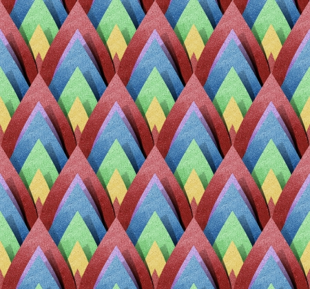 papercraft: Thai Abstract Pattern papercraft  Background