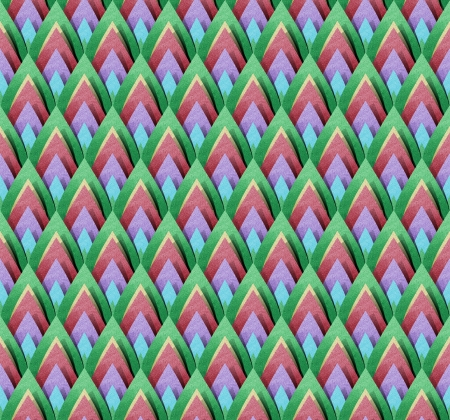 Thai Abstract Pattern papercraft  Background  photo