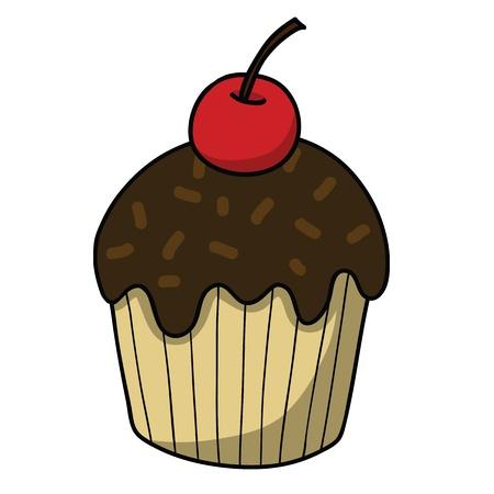 Cartoon Kuchen