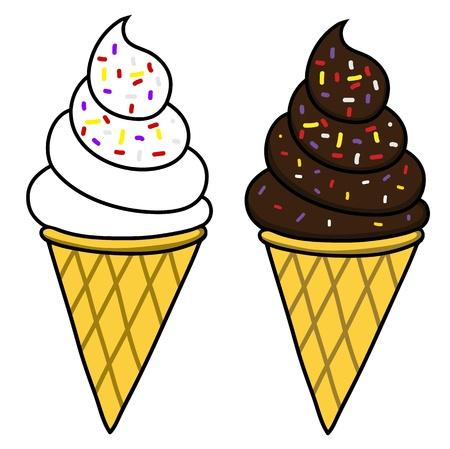 Ice cream Stock Vector - 15437522