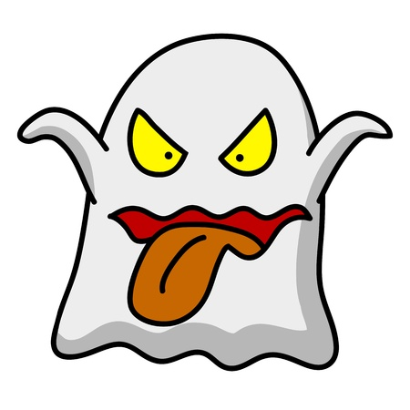 Halloween character  cartoon. Vector