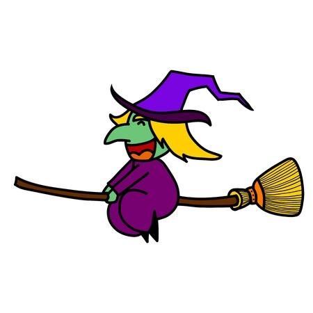 harridan: Halloween character  cartoon.