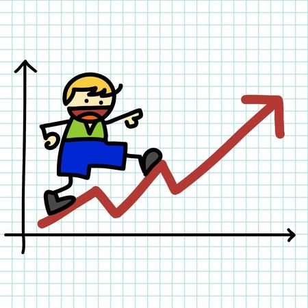 charactor: Cartoon charactor business vector