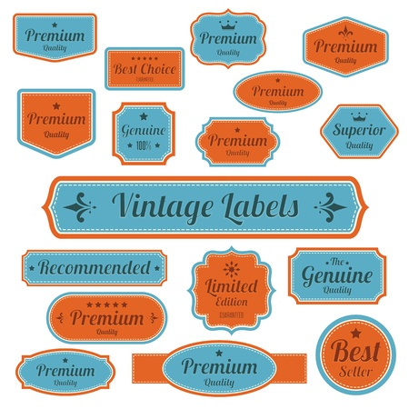 Set of  retro vintage badges and labels.eps10 Stock Vector - 18068124