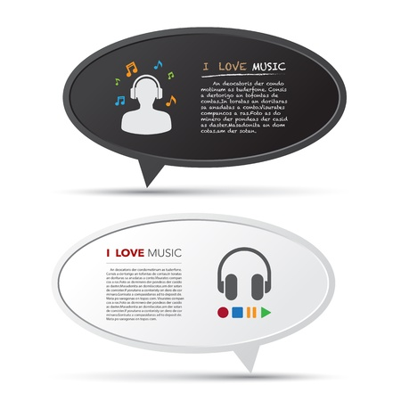 3D bubble talk blackboard. Design element , Illustrator EPS10 Vector