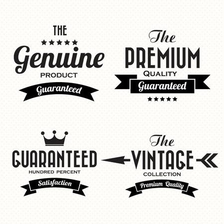 Retro vintage badges and labels.Illustration eps10