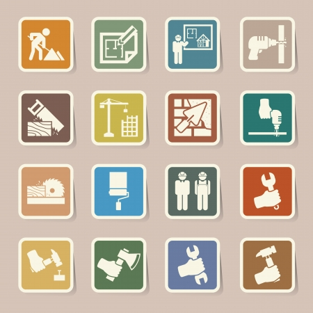 Construction Icons set.