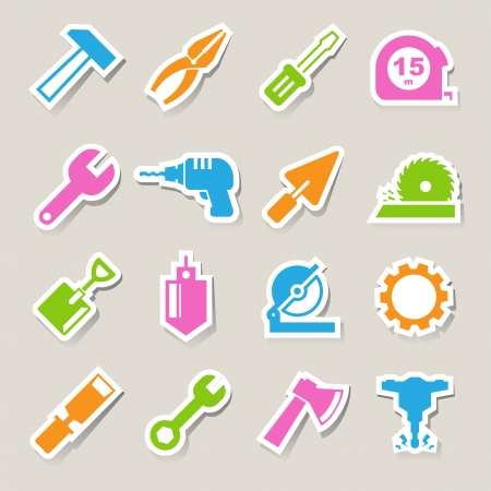 tooling: Construction Icons set.