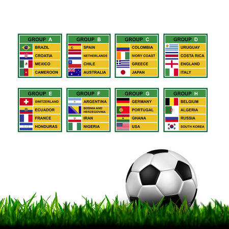 Brazil 2014 , Soccer ( Football ) Tournament. Stock Photo - 25238190
