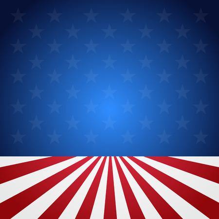USA flag pattern background.  イラスト・ベクター素材
